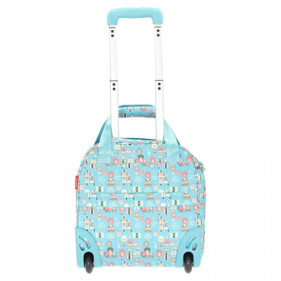 Lil Ledy 2-Rollen-Kabinentrolley XS 40 cm turquoise