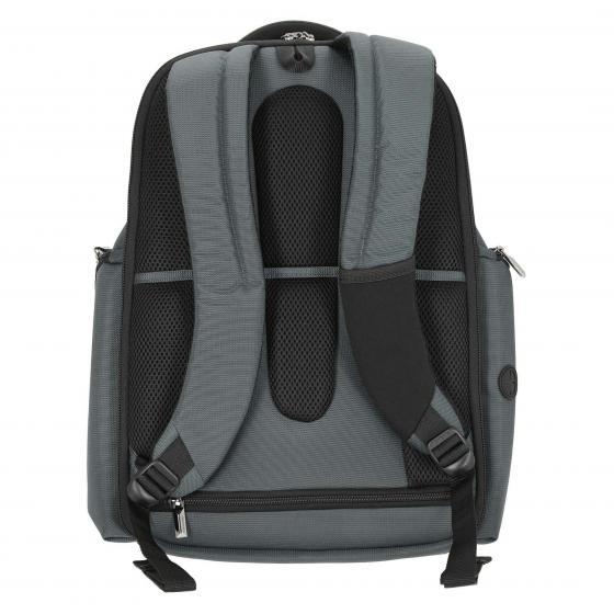 """XBR Laptop-Rucksack 3V 15.6"""" 48 cm grey black"""