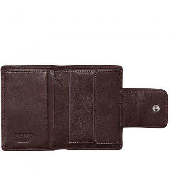 Ladysafe RFID Börse mit Münzfach Hochformat 10 cm black