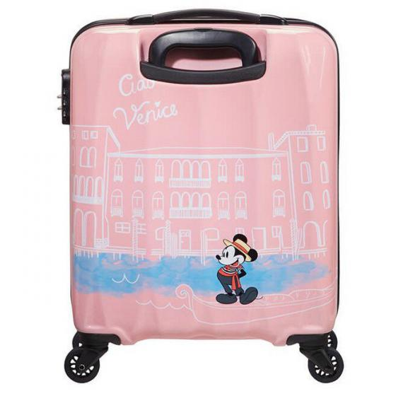 Disney Alfatwist 2.0 4-Rollen-Kabinentrolley S 55 cm Take Me Away Mickey Venice