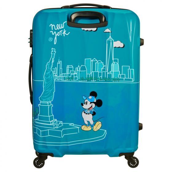 Disney Alfatwist 2.0 4-Rollen-Trolley L 75/28 Take Me Away Mickey NYC