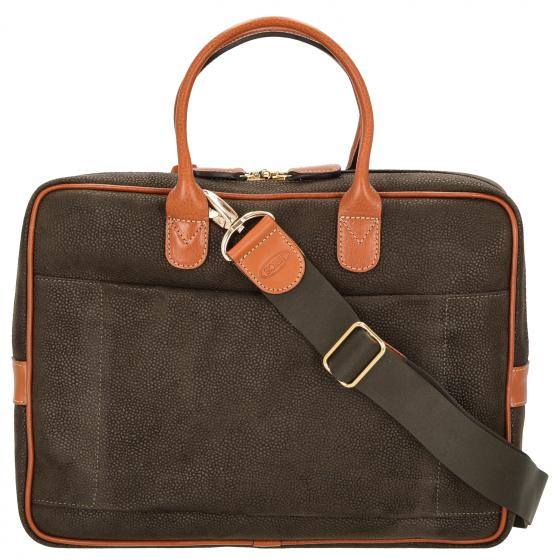 Life Briefcase Aktentasche 38 cm olive