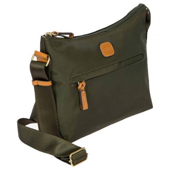 X-Bag Schultertasche 25 cm olive