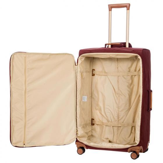 X-Travel 4-Rollen-Trolley L 77 cm bordeaux