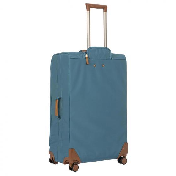X-Travel 4-Rollen-Trolley L 77 cm grey blue