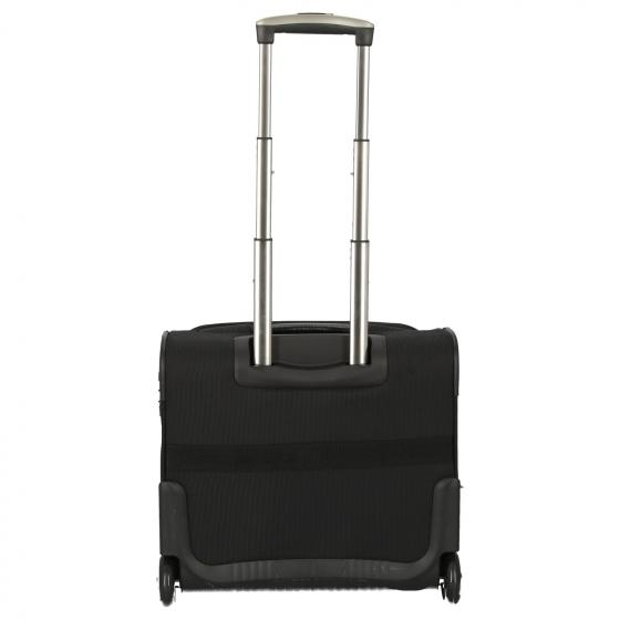 Business und Travel 2-Rollen-Businesstrolley 43 cm black