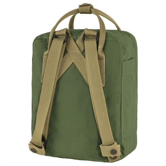 Kanken Mini Rucksack 29 cm spruce green-clay