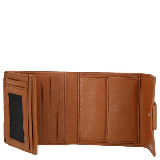 Kirschroth Dalene Börse mit RFID 10 cm cognac