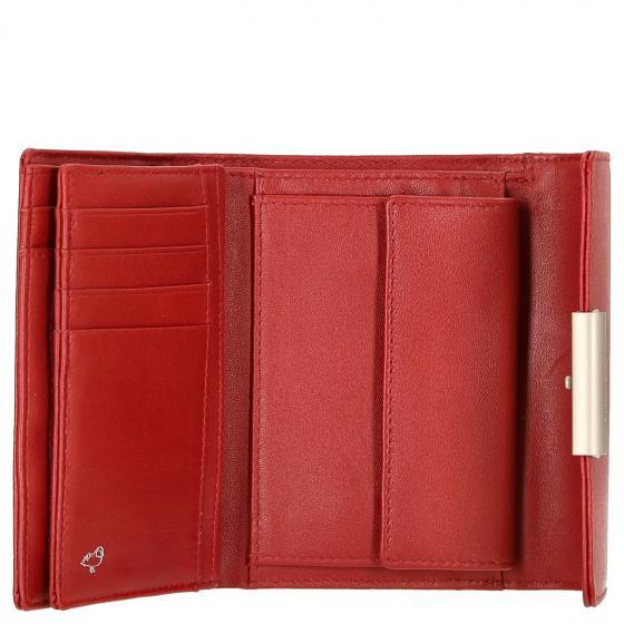 Hera 3.0 Börse mit Druckknopf 15 cm red