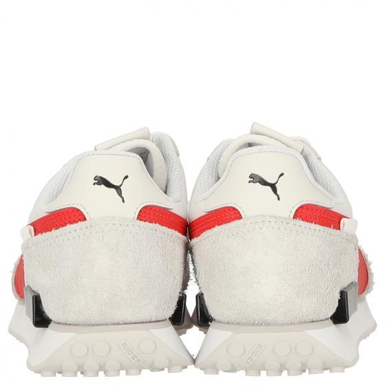 Unisex Future Rider Vintage Sneaker Schuh 380464 46 | puma white-nimbus cloud