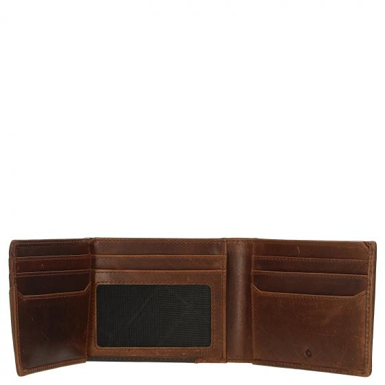 Oleo SLG Herrengeldbörse RFID 11 cm dark brown