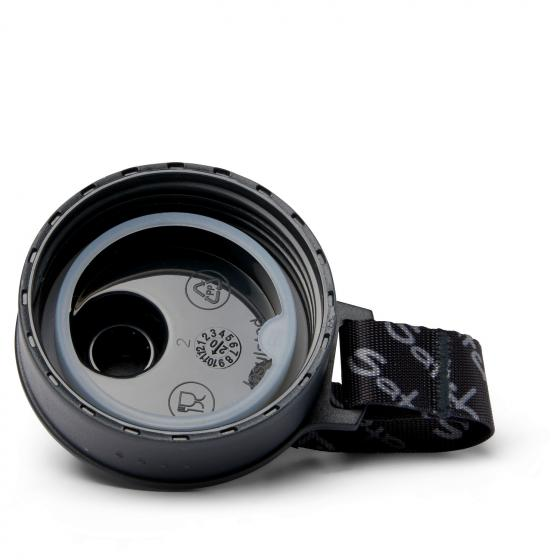 Zubehör Sport-Trinkflasche 0,5 L black