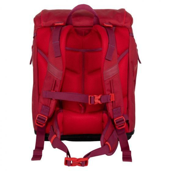Alpha Exklusiv Premium Schulranzen Set 4tlg Red Princess