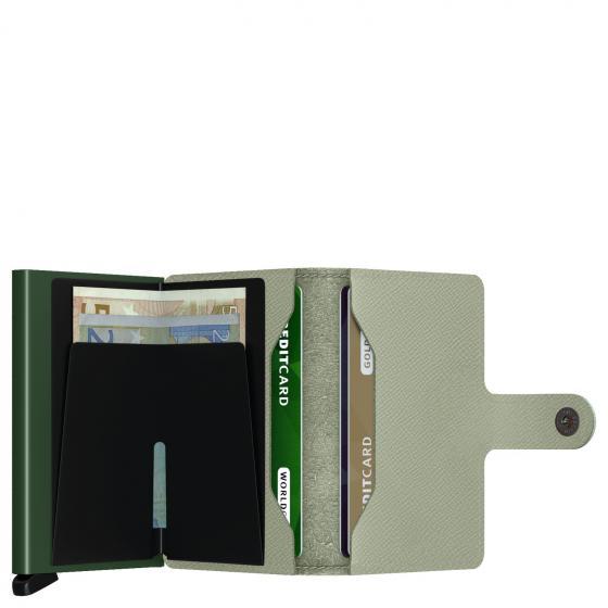 Crisple Miniwallet Geldbörse RFID 6.5 cm pistachio