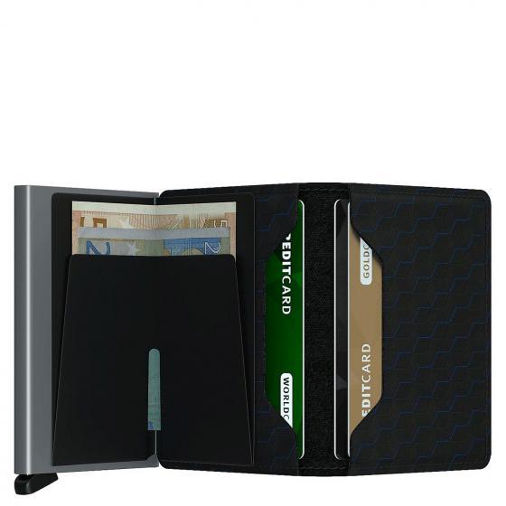 Optical Slimwallet mit RFID Schutz 6.8 cm black titanium