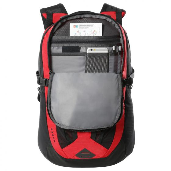 Recon Laptoprucksack 49 cm tnf red-tnf black