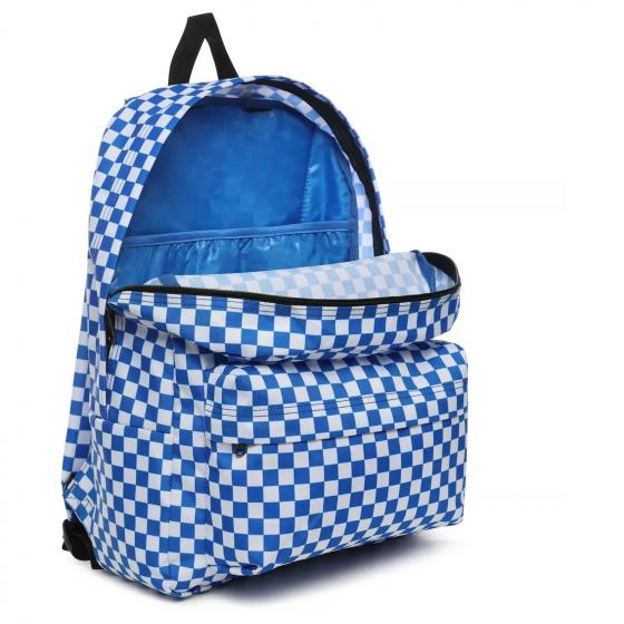 "Old Skool III Laptop-Rucksack 15"" 41 cm victoria blue check"