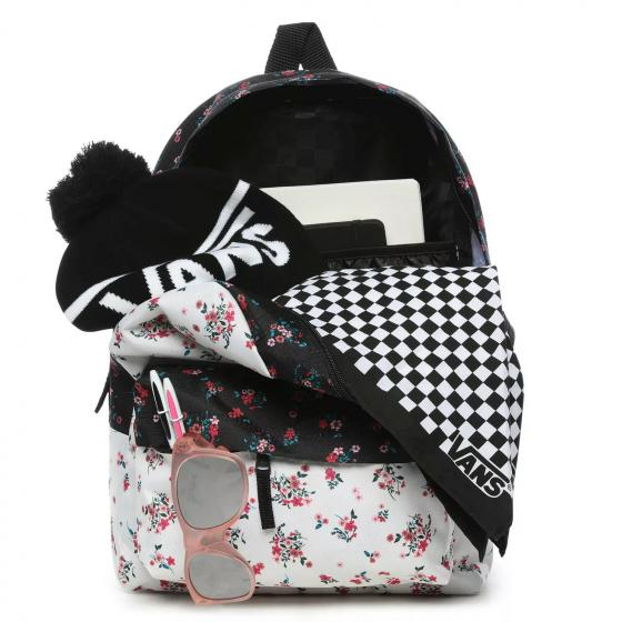 W Realm Classic Rucksack 42.5 cm beauty floral patchwork