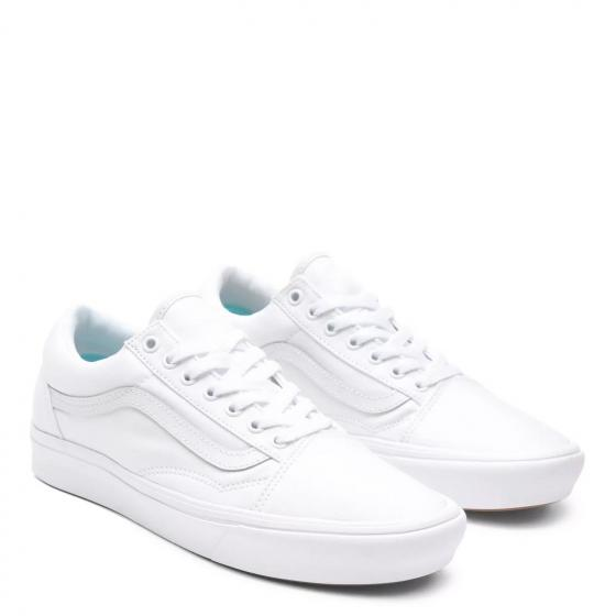 Unisex ComfyCush Old Skool Sneaker Schuh WMAVNG1 38 | true white