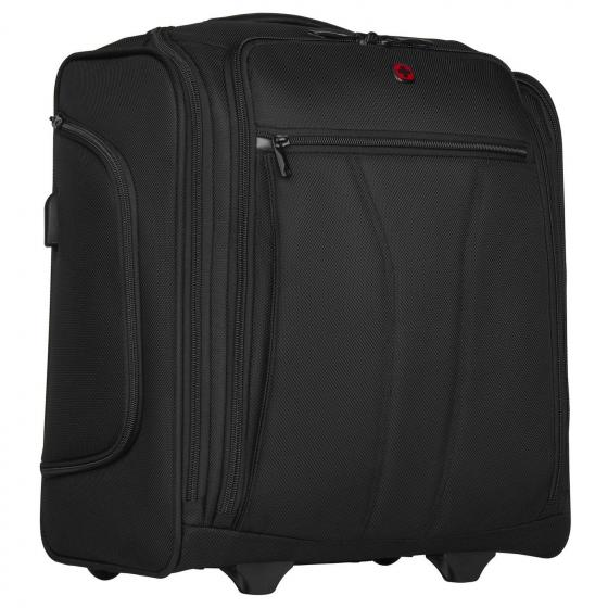 """BC Roll Businesstrolley mit Laptopfach 14"""" und USB-Anschluss 45 cm black"""