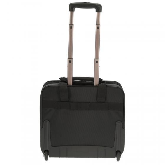 2-Rollen-Businesstrolley 43 cm black