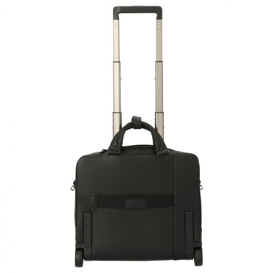 Akron 2-Rollen Businesstrolley 40 cm black