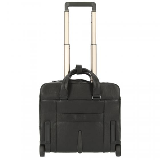 Black Square 2-Rollen-Businesstrolley 40 cm black