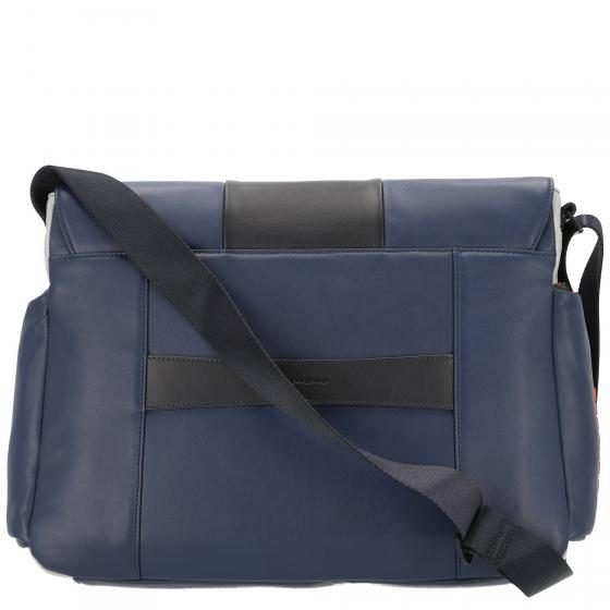Urban Laptopkuriertasche 41 cm blue black
