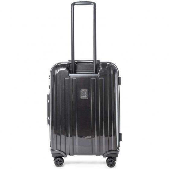 Crate EX Solids 4-Rollen-Trolley 66 cm erweiterbar blackMETAL