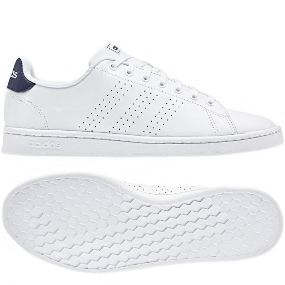 CORE Advantage Sneaker Schuh F36423 40 2/3 | ftwwht/ftwwht/dkblue