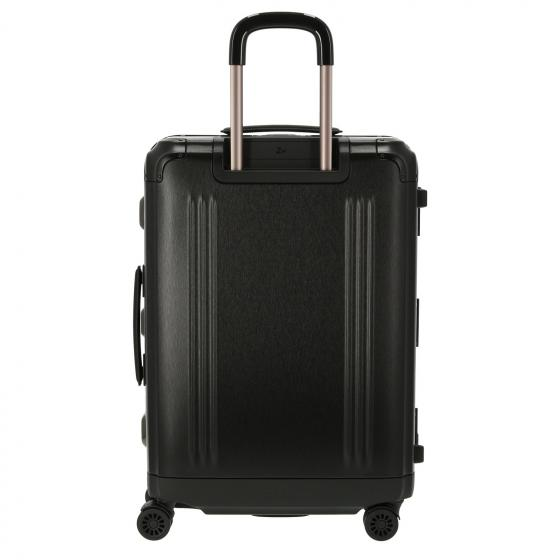 Check in 4-Rollen-Trolley M 66 cm black