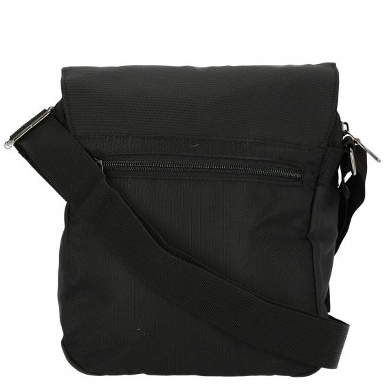 Schultertasche 26 cm black