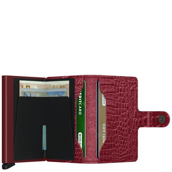 Nile Miniwallet Geldbörse RFID 6.5 cm ruby