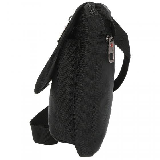 Schultertasche 23 cm S black
