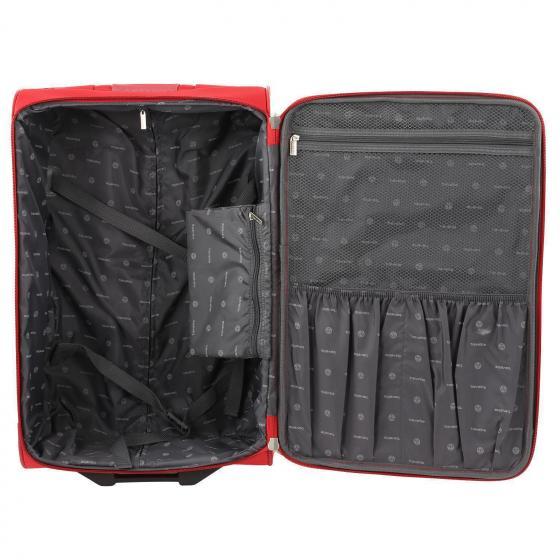 Orlando 2-Rollen-Trolley Set L/M/S + Boardtasche 4 tlg. schwarz