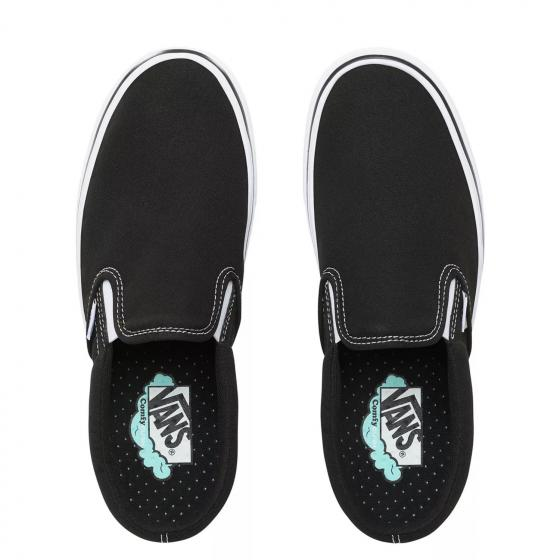 Uni ComfyCush Slip-On Sneaker Schuh WMDVNE1 42,5 | black white