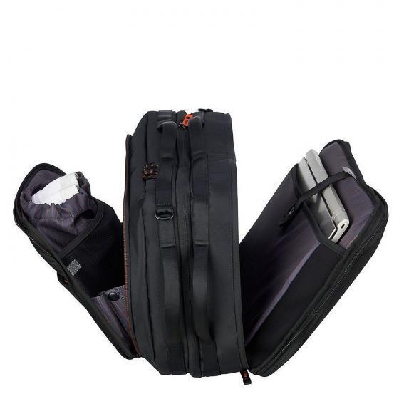 Daily`s Aktenmappe Rucksack 2-Fächer 47 cm schwarz