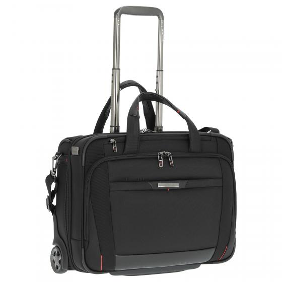 PRO-DLX 5 2-Rollen-Businesstrolley 46 cm erw. black
