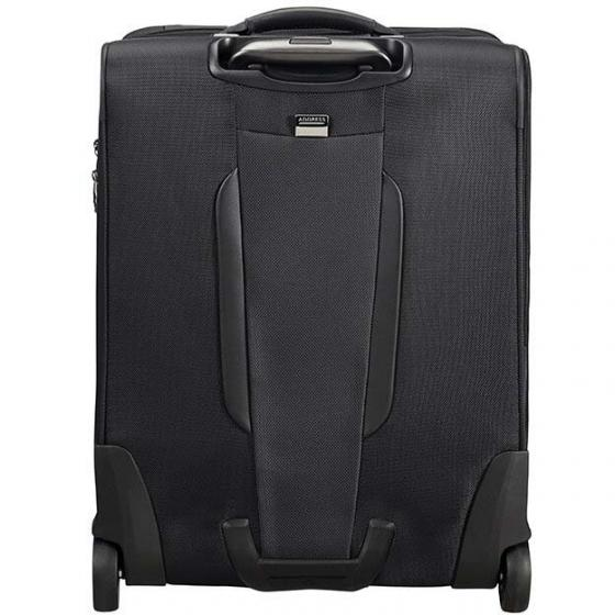 PRO-DLX 5 Upright 2-Rollen-Kabinentrolley S 55 cm  erw. black
