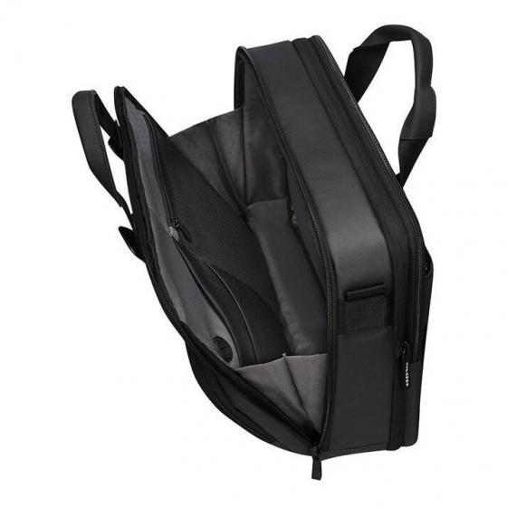 """Cityvibe 2.0 Aktentasche mit Laptopfach 15.6"""" 41 cm jet black"""