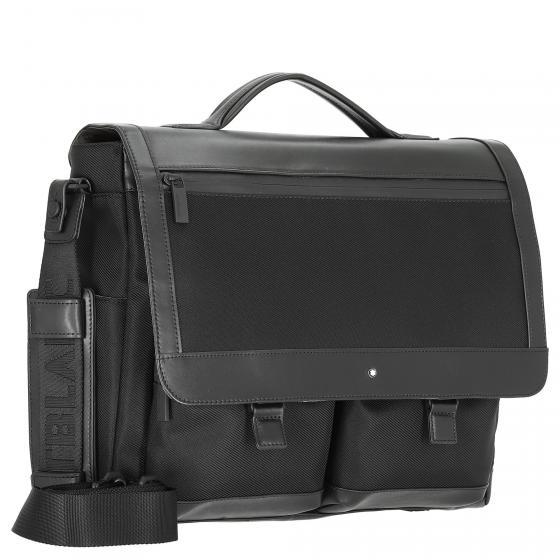 Nightflight Aktentasche mit Laptopfach und RFID 38 cm black
