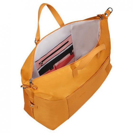 Pow-Her Reisetasche 50/20 cm dark yellow