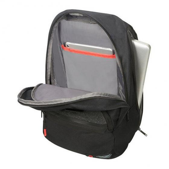 "City Aim Rucksack mit Laptopfach 14.1"" 40.5 cm black"