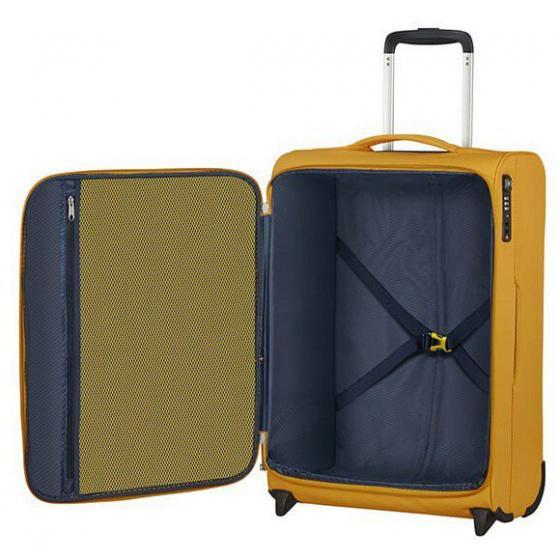 Lite Ray 2-Rollen-Kabinentrolley 55 cm golden yellow