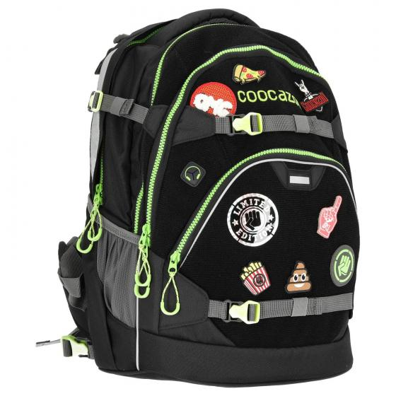 "ScaleRale Schulrucksack  ""Patchy"" Limited Edition 45 cm black"