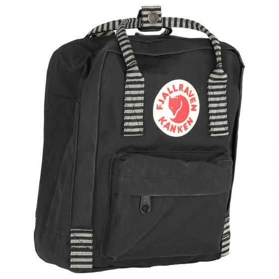 Kanken Mini Rucksack 29 cm black-striped