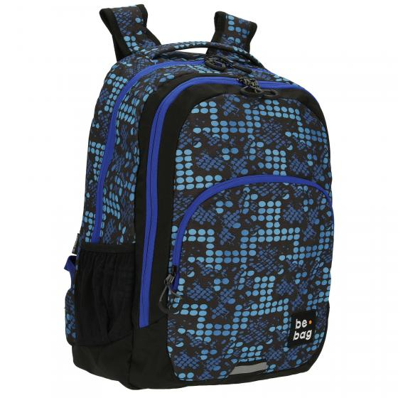 be.bag. be.ready Schulrucksack 46 cm Smashed Dots