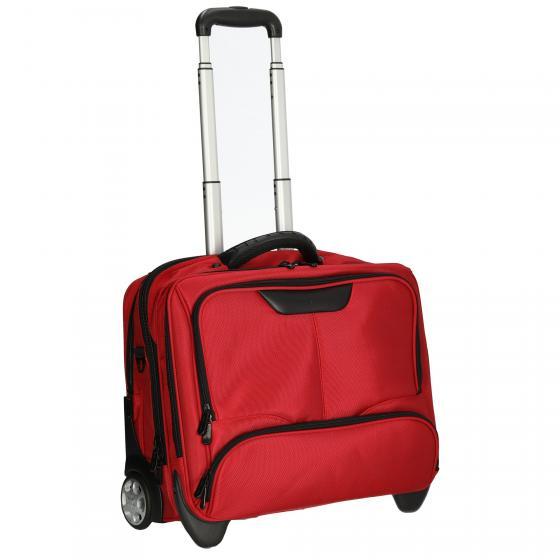 Businesstrolley aus Nylon 44,5 cm rot