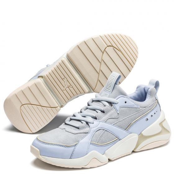 W Nova 2 Suede Sneaker Schuh 370959 40 | grey
