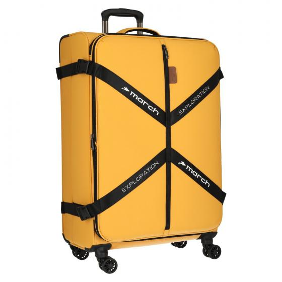 Exploration 4-Rollen-Trolley L 75 cm golden honey
